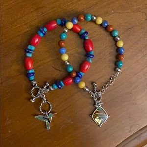 Double Bracelet Mutli-Color Set